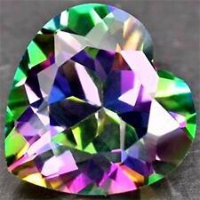 5,14 ct  Mystic Topaze - Heart Shape  IF - origin :Madagascar - Wonderful luster