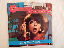 """TRACEY ULLMAN """"THEY DON'T KNOW"""" Picture Sleeve!  NEW! ONLY NEW COPY ON eBAY!!"""