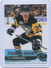 16/17 UPPER DECK YOUNG GUNS ROOKIE RC #223 TOM KUHNHACKL PENGUINS *41372