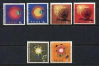 35728) Poland 1964/65 MNH International Quiet Sun Year 6v
