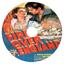Fire Over England -  Laurence Olivier, Vivien Leigh - Drama - DVD - 1937