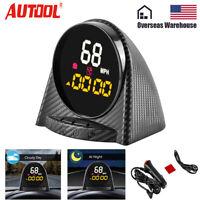 X70 Digital GPS HUD Speedometer Compass Altitude Alarm Engine Code Reader Gauge