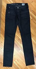 G-Star Shipmate Skinny Dark Wash Jeans Women's Size 28x34 NEW Fast Shipping LOOK