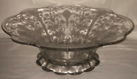 """Duncan & Miller FIRST LOVE CRYSTAL *12"""" X 4"""" FOOTED FLARED CONSOLE BOWL"""