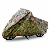 XL 190T lluvia polvo motocicleta cubierta funda bici impermeable UV protector