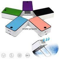 Mini Portable USB Rechargeable Hand Held Air Conditioner+Strap Summer Cooler Fan