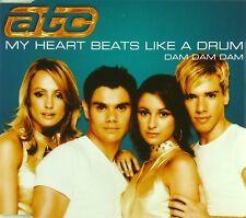 Maxi CD - ATC - My Heart Beats Like A Drum (Dam Dam Dam) - #A2785
