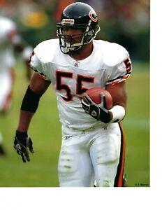 8x10 photo football Lance Briggs, Chicago Bears