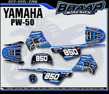 Yamaha PW-50 Bradford Replica LL Graphics Decal Kit