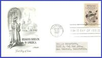 US #1099 ADDR ARTMASTER FDC   Religious Freedom