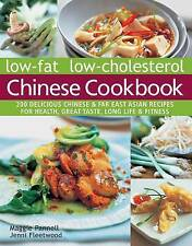 Low-fat low-cholesterol Chinese cookbook: 200 Delicious Chinese & far East...