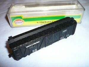 MODEL POWER N GAUGE CATTLE WAGON UNION PACIFIC 3441 NEW & BOXED