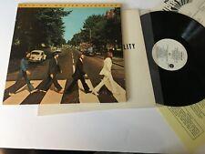 Beatles Abbey Road Master Japan w/ Inserts Record Rock lp original vinyl album