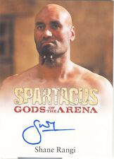 "Spartacus Gods of the Arena - Shane Rangi ""Dagan"" Autograph Card"