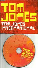 TOM JONES International 2 RARE MIXES & EDIT & VIDEO UK CD single 2002 USA Sller