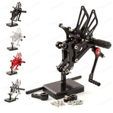 New CNC Racing Rearset Footpegs Rear Set For Aprilia RS125 2T 125 1996-2010