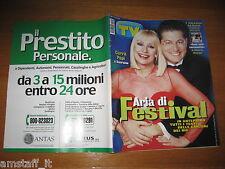 TV SORRISI E CANZONI=2001/9=RAFFAELLA CARRA'=ENRICO PAPI=DEBORA CAPRIOGLIO=