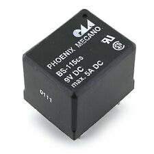 [20pcs] BS-115CS-7A-9VDC Relay 9VDC 5A Coil 225 Ohm THT