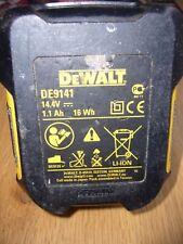 Genuine DeWALT DE9141 14.4V 1.1Ah Lithium Li-Ion Battery