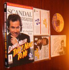 Dennis Miller: That's News to Me (3DO) LONG BOX - COMPLETE - CIB - RARE