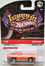 HOT WHEELS LARRY'S GARAGE #07/20 '63 CORVETTE