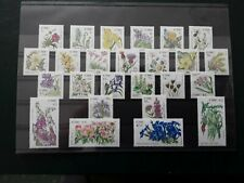 Ireland Eire. Wildflowers. 25 mnh stamps SG 1665-1689.