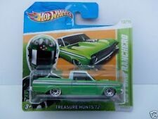 Hot Wheels Treasure Hunt Ford Diecast Racing Cars