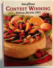 Cookbook 260 Contest Winning Recipes 2007, Chicken Chocolate Desserts Pasta Cake
