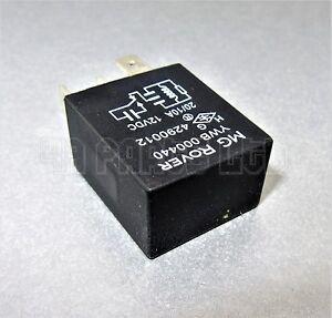 MG Rover Mini 45 25 75 Land Rover 5 Pin Black Relay Multi-Use YWB000440