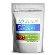 PHEN - GUARANA COMPLEX - HIGH STRENGTH LEGAL FAT BURNER - WEIGHT LOSS DIET PILL