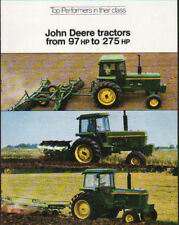 John Deere 97 to 275hp Tractors, Magazine Suppliment Brochure