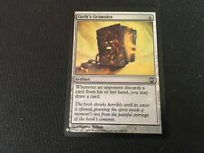 Geth's Grimoire FOIL Mystery Booster MTG Artifact Magic the Gathering Card