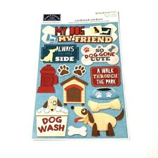 Karen Foster My Dog, My Friend Cardstock Stickers, 13 total Dog Themed