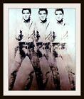 "4.5"" Andy Warhol Elvis Presley vinyl sticker. Classic Pop Art decal for laptop."