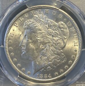 1884-CC Morgan Dollar MS62 PCGS