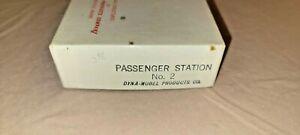 Dyna-Model Products HO Scale Train Passenger Station Craftsman Kit