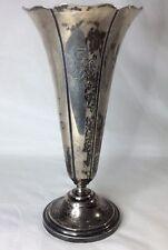 """Cartier Sterling Vase 9"""" Vintage (S31)"""