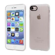 "Apple iPhone 8 7 4.7"" PC TPU Hard Case Shock Protection Matt Cover Transparent"