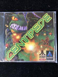 CENTIPEDE ATARI PC COMPUTER CD ROM GAME 1998 WINDOWS 95 98 HASBRO - New Sealed -