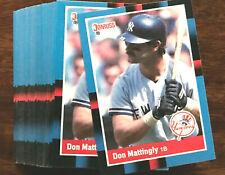 1988 Donruss DON MATTINGLY ~ 20 CARDS LOT ~  NY YANKEES STAR 1ST BASEMAN  H0F?