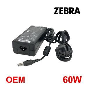 Genuine OEM Zebra 60W AC Power Adapter For LP Series Thermal Printer Eltron W/PC
