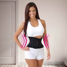 JML Miss Belt Ladies Waist Shaper Instant Slimming Effect Dual Compression Black