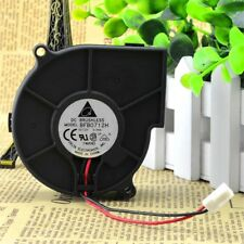 12V 0.36A 75×75×30mm 2pin Brushless DC Cooling Blower Centrifugal Fan NEW.US