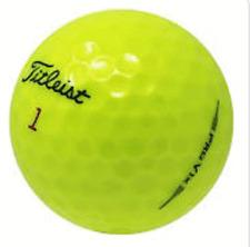 24 Golf Balls-  2019 Titleist Pro V1X Yellow - AAAAA