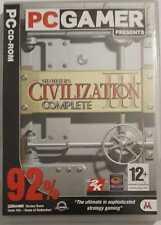 Sid Meier's Civilization III Complete Game (PC Gamer - PC CD-ROM)