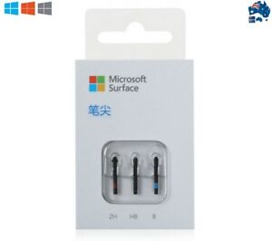 Genuine New Microsoft Pen Tip Kit (2H, HB, B) For Surface Pro 4 5 Pen Stylus AU