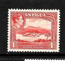 ANTIGUA 1938  1d   KGVI  PICTORIAL  MLH    SG 99a