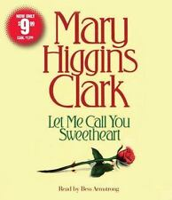 Let Me Call You Sweetheart - Mary Higgins Clark - CD Audiobook New in Plastic