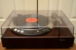 DENON DP-60L Direct Drive Record Turntable, Just Serviced!