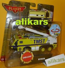 RYKER - with Moving Boom Disney Planes 2 Mattel Deluxe TMST Fire & Rescue Cars